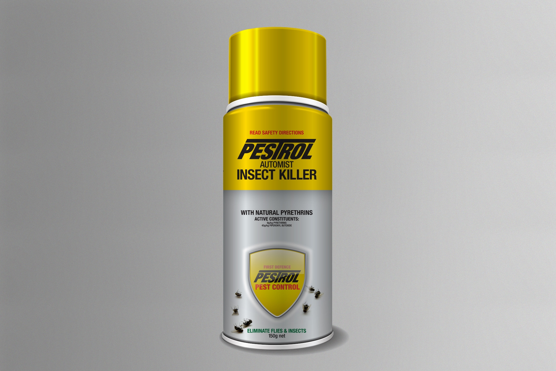 New Pestrol Insect Killer Can Before