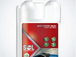 SolClean Eco Friendly Car Wash Packaging Design