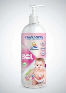 SolClean Eco Friendly Baby CareSurface Protect Packaging Design
