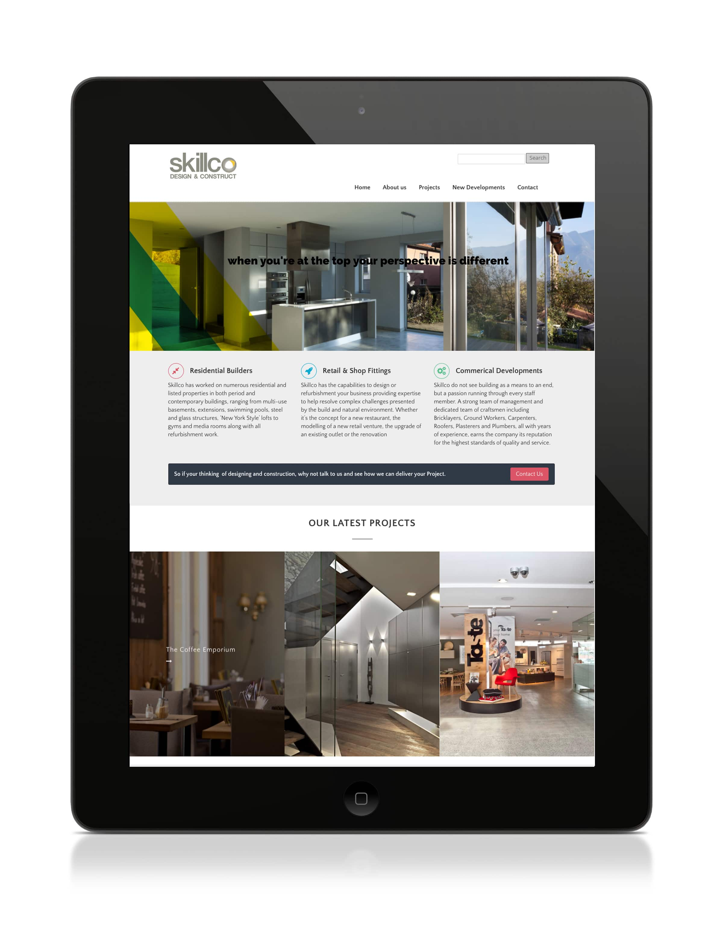 Skillco Website Design