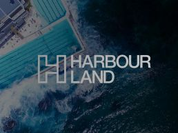 Harbour Land Logo Drone Image of Bondi