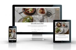The Paper Mill Food Website Design Sydney Website design by Wowwee Design Sydney Design Agency